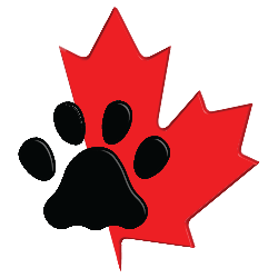 CanaDogs maple leaf and paw: Canadian dog breeders