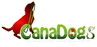 CanaDogs logo: Canadian dog breeders